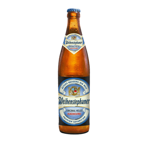 Weihenstephaner Original Helles Alkoholfrei Btl 500mL
