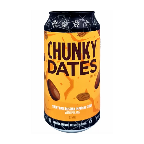 Rocky Ridge Chunky Dates Imperial Stout 10% Can 375mL