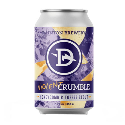 Dainton Brewery Violent Crumble 7.5% Can 355mL