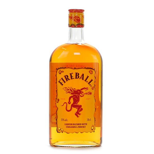 Fireball Liqueur Blended with Cinnamon & Whiskey 700mL
