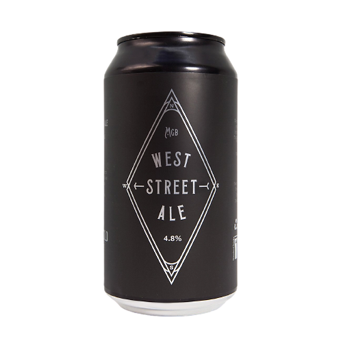 Miners Gold West Street Pale Ale 4.8% Can 375mL