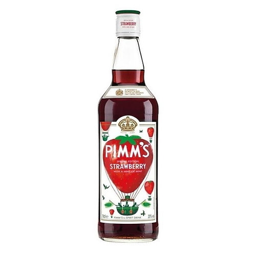 Pimm's Special Edition Strawberry with a hint of Mint Btl 700mL