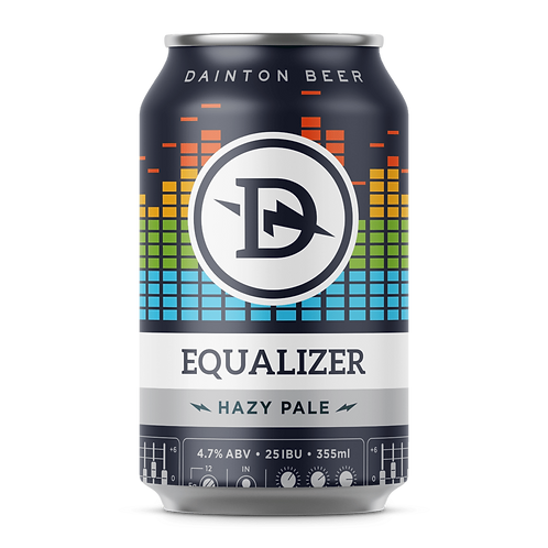 Dainton Brewery Equalizer Hazy Pale Ale 4.7% Can 355mL