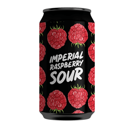 Hope Brewery Imperial Raspberry Sour 7% Can 375mL