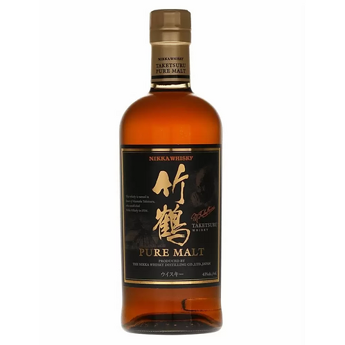 Nikka Taketsuru Pure Malt 43% Btl 700mL