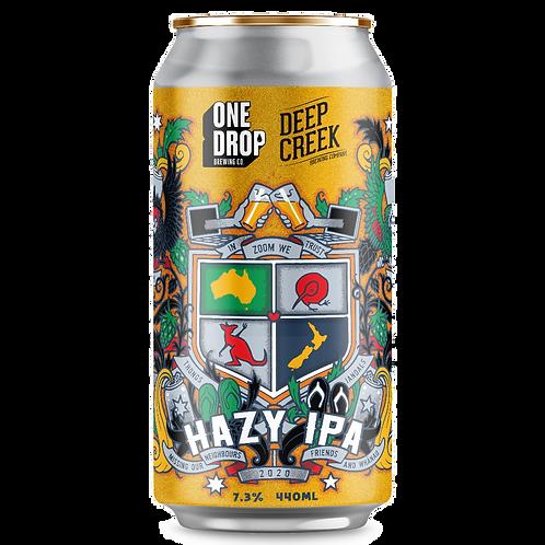 One Drop Brewing Co  X Deep Creek Hazy IPA 7.3% Can 440mL