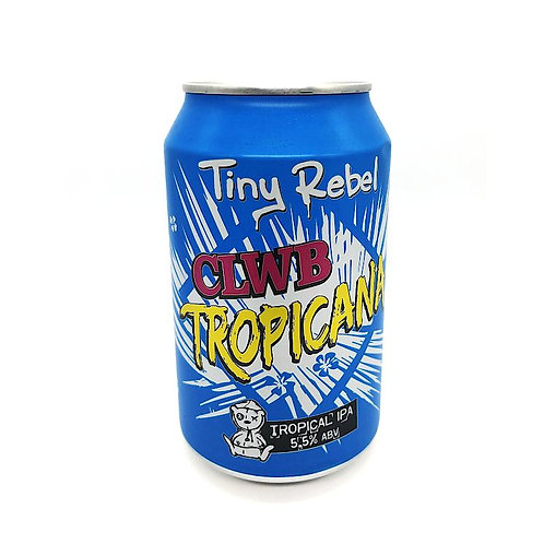 Tiny Rebel CLWB Tropica Tropical IPA 5.5% Can 330mL