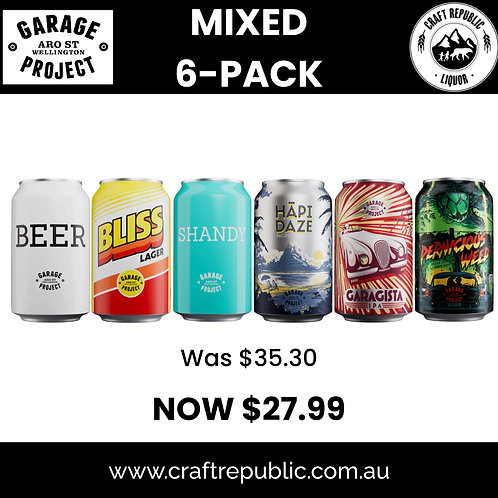 Garage Project from NZ with Love 6 Pack 330mL