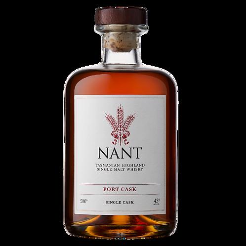 Nant Port Cask Tasmanian Highland Single Malt Whisky 500mL