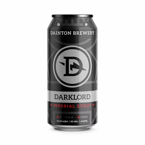 Dainton Brewery Darklord Imperial Stout 10% Can 440mL