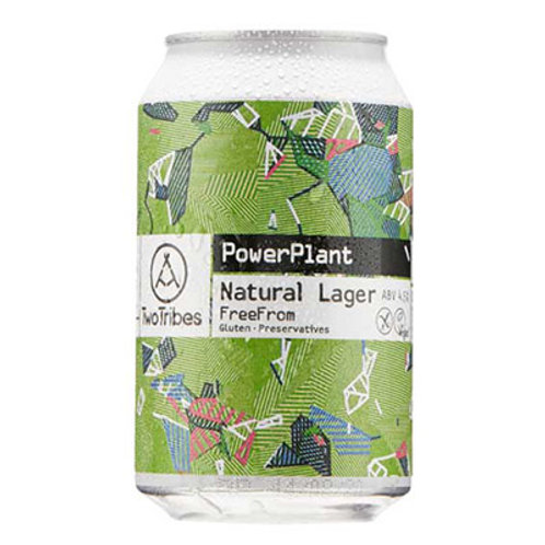 Two Tribes Power Plant Lager 4.5% Can 330mL