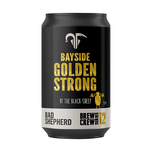 Bad Shepherd Golden Strong Ale 8% Can 355mL