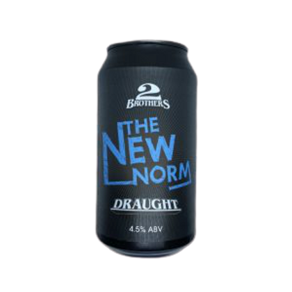 2 Brothers The New Norm Draught 4.5% Can 375mL
