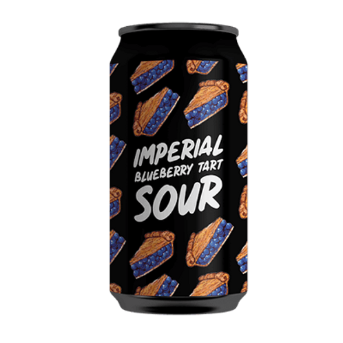 Hope Brewery Imperial Blueberry Tart Sour 7% Can 375mL