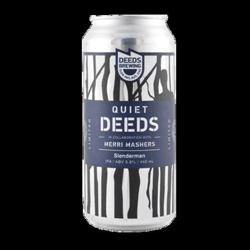 Deeds Brewing x Merry Mashers Slenderman IPA 5.8% Can 440mL