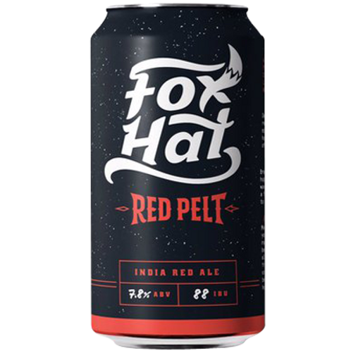 Fox Hat Red Pelt India Red Ale 7.8% Can 375mL