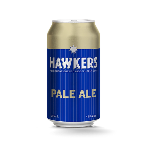 Hawkers Brewery Pale Ale 4.8% Can 375mL