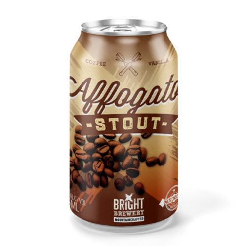 Bright Brewery Affogato Stout Can 375mL