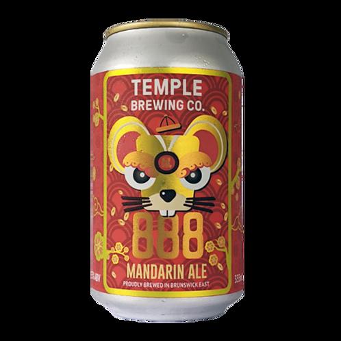 Temple Brewing 888 Mandarin Ale 4.5% Can 355mL