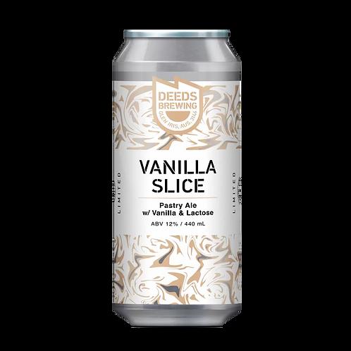 Deeds Brewing Vanilla Slice Pastry Ale with Vanilla & Lactose 12% Can 440mL
