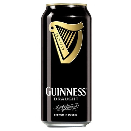 Guinness Draught Stout 4.1% Can 440mL