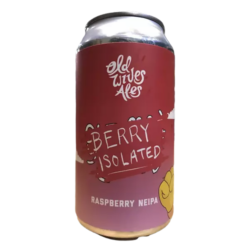 Old Wives Ales Berry Isolated Raspberry NEIPA 6.5% Can 375mL