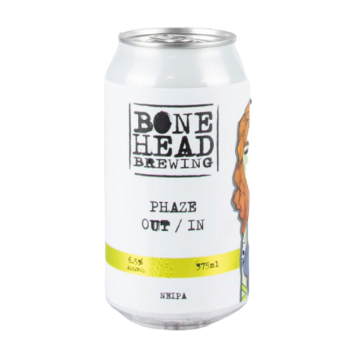 Bonehead Brewing Phase Out / In NEIPA 6.5% Can 375mL