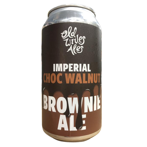 Old Wives Ales Imperial Choc Walnut Brownie Ale 8% Can 375mL