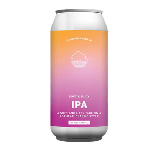 Cloudwater Brew Co Soft & Juicy IPA 6% Can 440mL