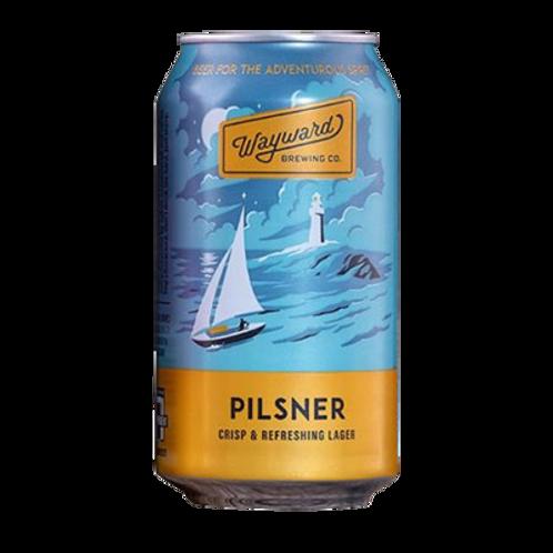 Wayward Brewing Pilsner 4.2% Can 375mL