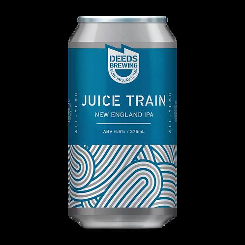 Deeds Brewing Juice Train NEIPA 6.5% Can 375mL