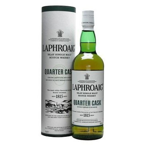 Laphroaig Quarter Cask Single Malt Scotch Whisky Btl 700mL