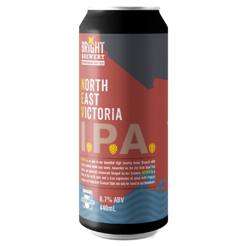 Bright Brewery IPA North East Victoria 440mL 6.7%