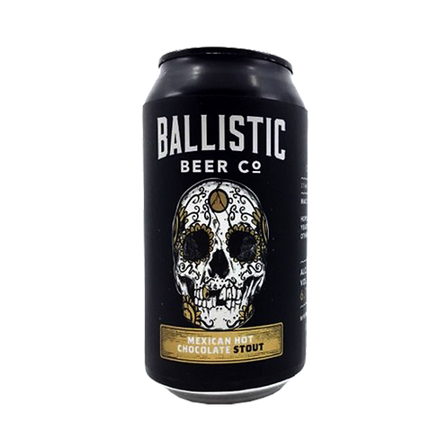 Ballistic Beer Co Mexican Chocolate Stout 6.7% Can 375mL