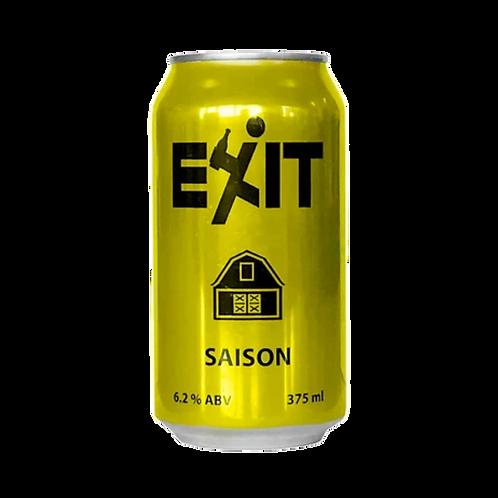 Exit Saison 6.2% Can 375mL