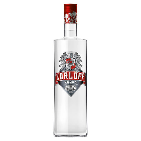 Karloff Triple Distilled Vodka 37% Btl 700mL