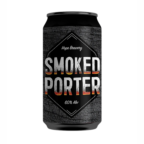 Hope Brewery Smoked Porter 6% Can 375mL