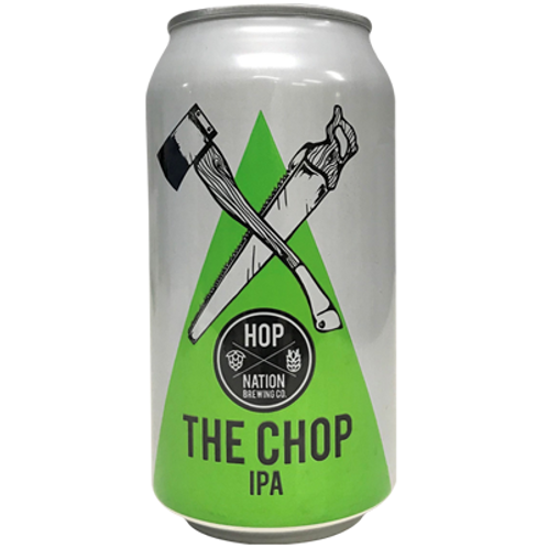 Hop Nation The Chop IPA 7% Can 375mL