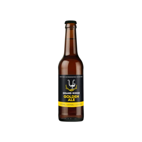 Grand Ridge Golden Ale 4.3% Btl 330mL