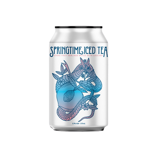 Bonehead Brewing Springtime Iced Tea 3.7% Can 375mL