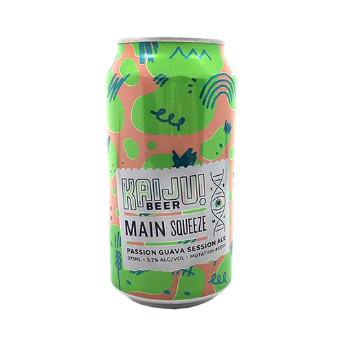 Kaiju Main Squeeze Passionfruit Guava Session Ale 3.2% Can 375mL