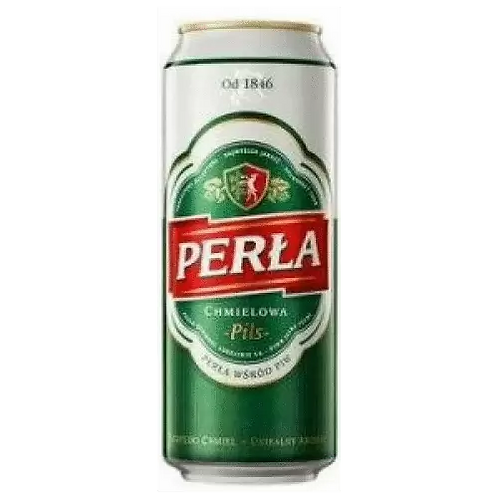 Perla Polish Lager 5% Can 500mL