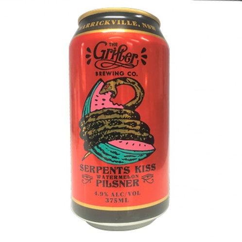 Grifter Brewing Co Serpents Kiss Watermelon Pilsner 4.9% Can 375mL