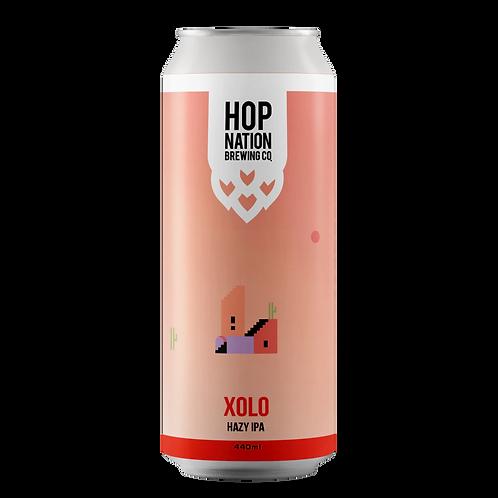 Hop Nation Xolo Hazy IPA 6.5% Can 440mL