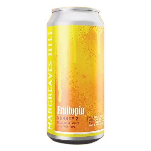 Hargreaves Hill Fruitopa # 2 Mango Creme Brulee 7% Can 440mL