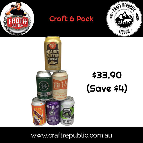 Froth Doctor 6 Pack Selection