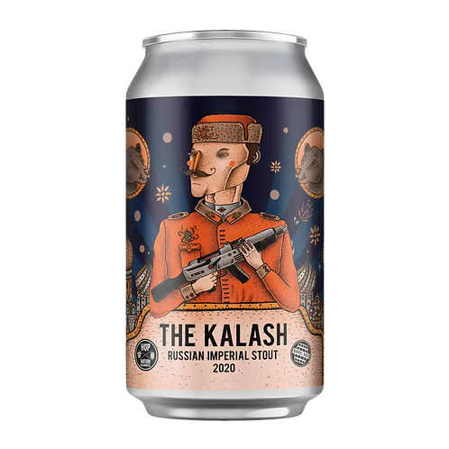 Hop Nation 2020 Kalash Russian Imperial Stout 10.7% Can 375mL