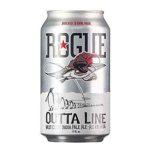 Rogue Brewing Outta Line West Coast IPA 6.69% Can 355mL