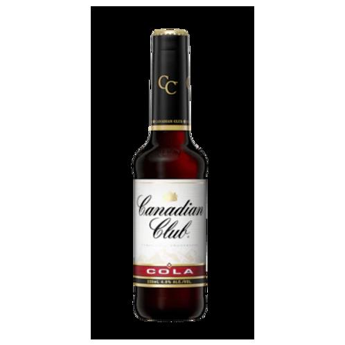 Canadian Club Whiskey & Cola 4.8% Btl 330mL
