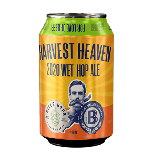 Barossa Valley Brewing Co Harvest Heaven2020 Wet Hopped Ale 6% Can 330mL